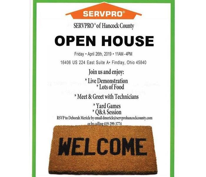 Community SERVPRO® of Hancock County Open House